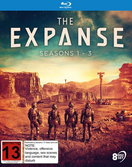 The Expanse: Seasons 1 - 3 on Blu-ray