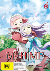 My-HiME - Vol. 5 on DVD