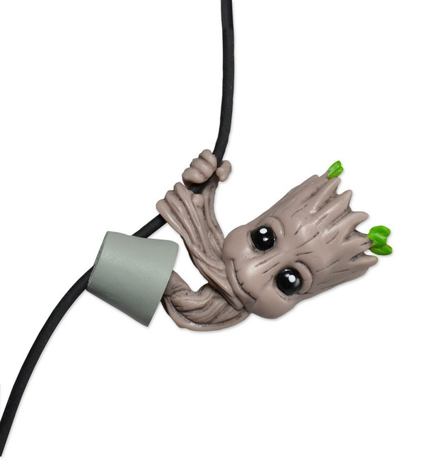"""Potted Baby Groot 2"""" Scalers Figure"""