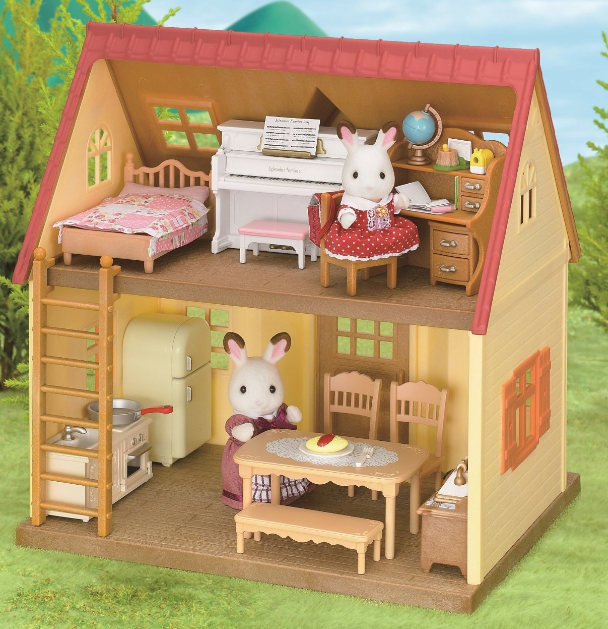 Sylvanian families classic furniture set toy at for Sylvanian classic furniture set