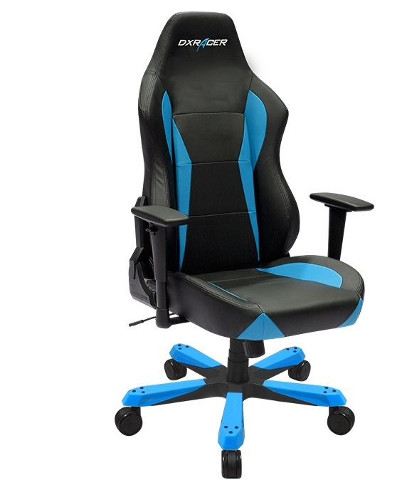 DXRacer Wide Series WZ0 Gaming Chair (Black and Blue) for  image