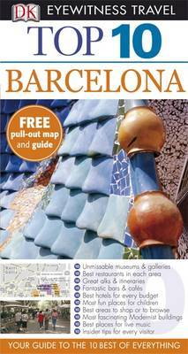 DK Eyewitness Top 10 Travel Guide: Barcelona by Annelise Sorensen image
