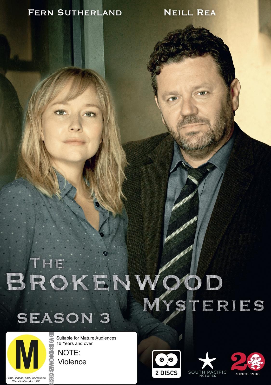 The Brokenwood Mysteries - Series 3 on DVD image