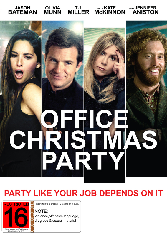 Office Christmas Party on DVD
