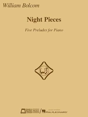 Night Pieces: Five Preludes for Piano by William Bolcom image