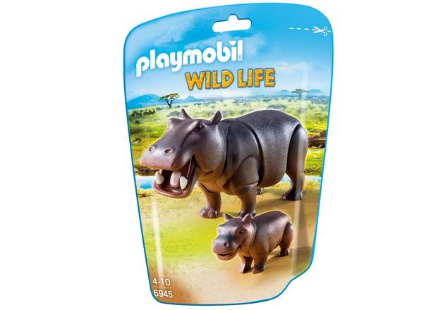 Playmobil: Wildlife - Hippo with Calf