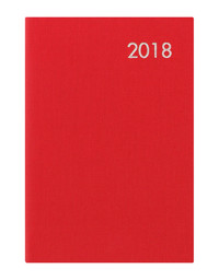 Letts 2018 Diary Principal Mini Pocket Week to View (Red)