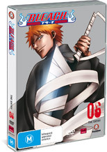 Bleach V06 on DVD