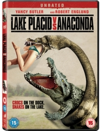 Lake Placid Vs Anaconda on DVD