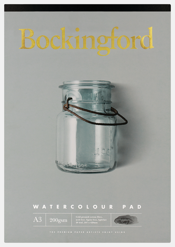 Bockingford: Watercolour Pad (20 A3 Sheets)