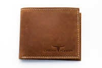 Urban Forest: Logan Leather Wallet - Cognac