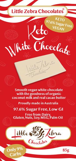 Little Zebra Chocolates: White Chocolate