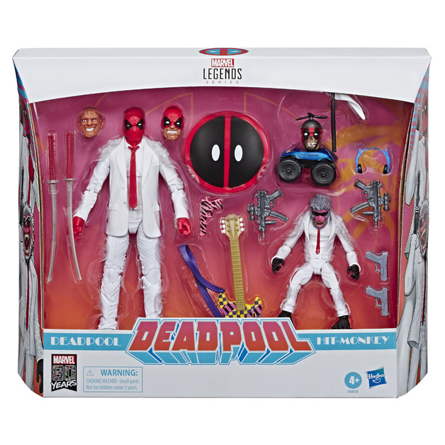 Marvel Legends Series: 80th Anniversary - Deadpool and Hit-Monkey