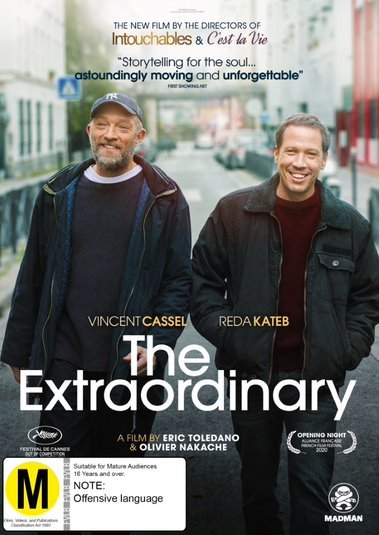 The Extraordinary on DVD image