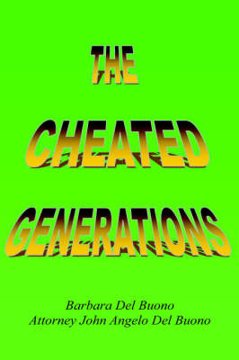 The Cheated Generations by John Angelo Del Buono image