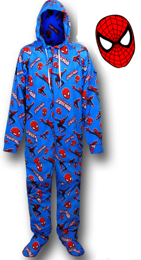 43de15e69564 ... Spider-Man Onesie Pyjamas (Unisex X-Small) image ...