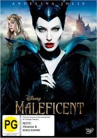Maleficent on DVD image