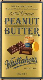 Whittaker's Peanut Butter Block (250g)