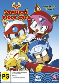 Samurai Pizza Cats- The Complete Series Collection on DVD