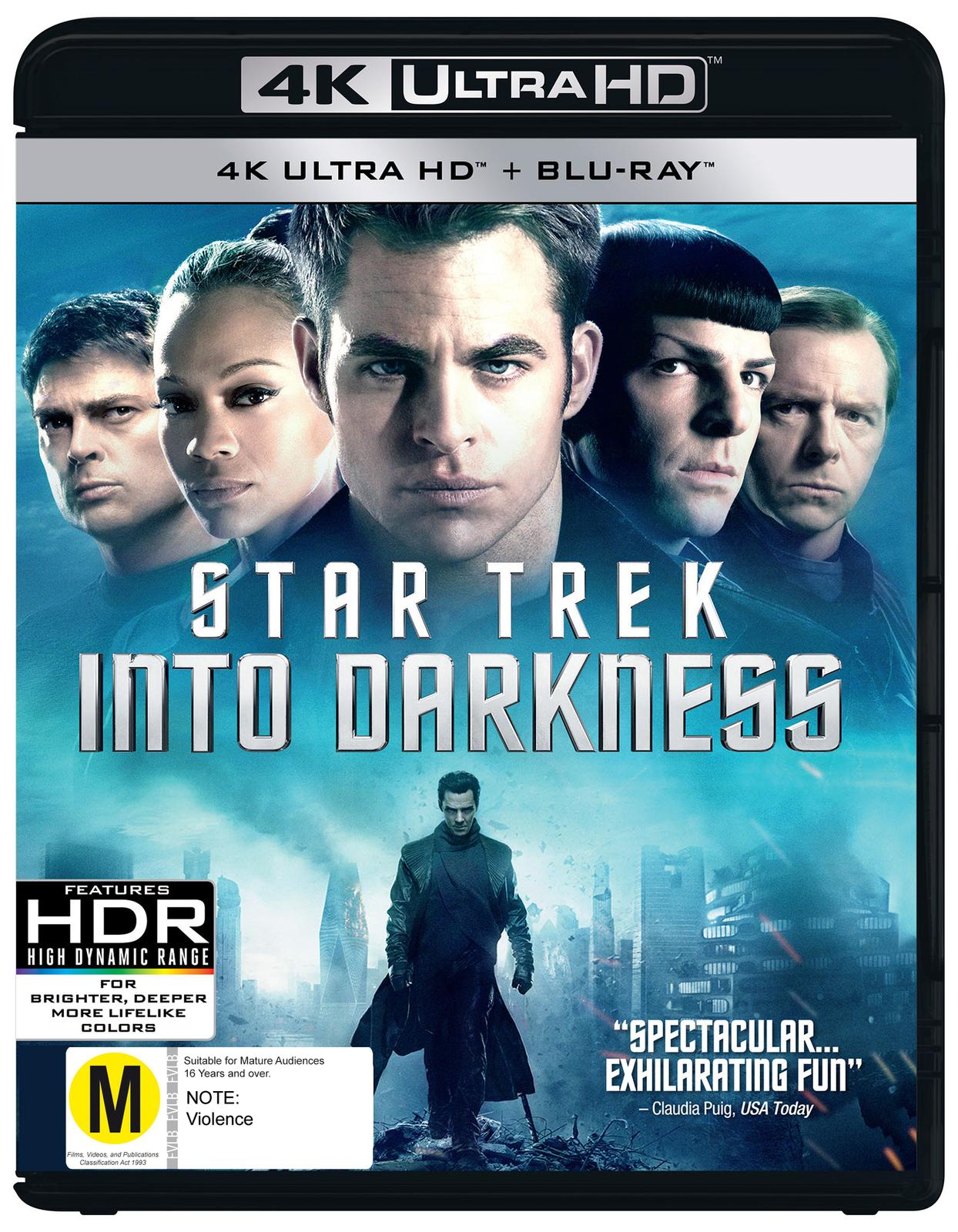 Star Trek: Into Darkness on Blu-ray, UHD Blu-ray image