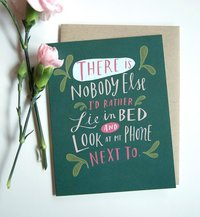 Emily McDowell: Look at my Phone - Greeting Card