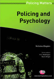 Policing and Psychology by Nicholas Blagden
