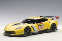 AUTOart: 1/18 Chevrolet Corvette C7R (Daytona 24HRS GTLM 2015 Winner #3) - Diecast Model