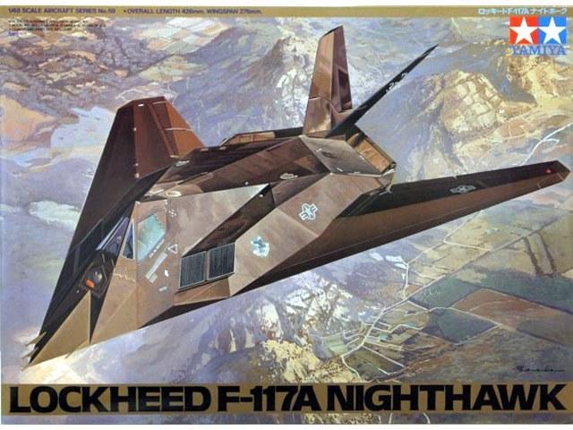 Tamiya 1/48 Lockheed F-117A Nighthawk - Model Kit image