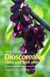 World Checklist of Dioscoreales by Rafael Govaerts image