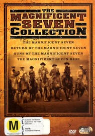 Magnificent Seven Collection (4 Disc Box Set) on DVD image