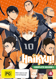 Haikyu!! Complete - Season 1 (Dual Language Edition) on