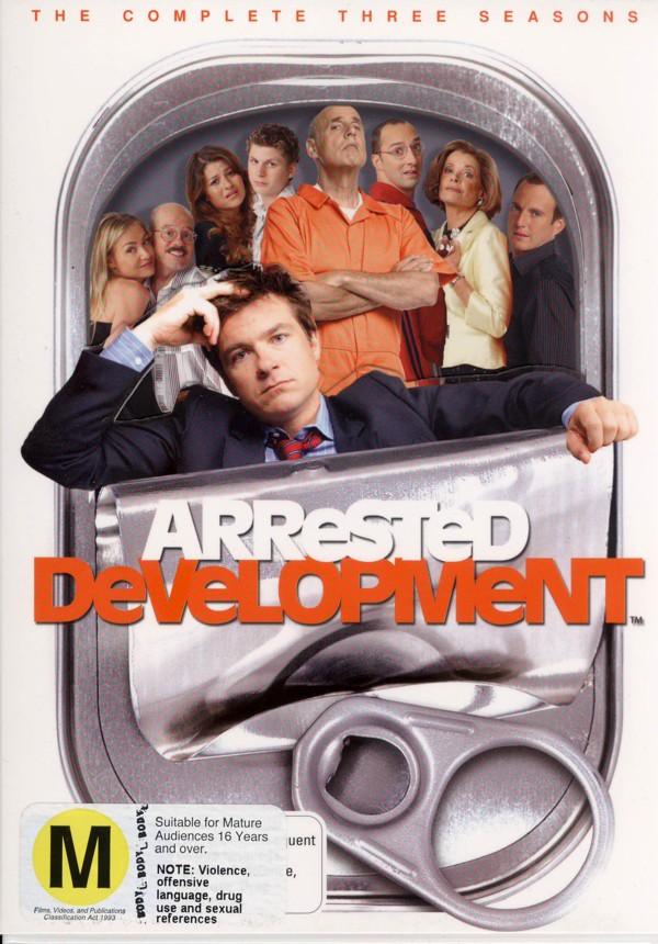 Arrested Development - The Complete Three Seasons (8 Disc Box Set) on DVD image