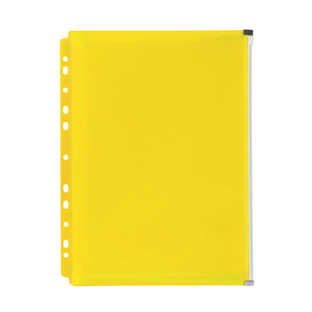 Marbig: Zip Binder Pocket - Yellow