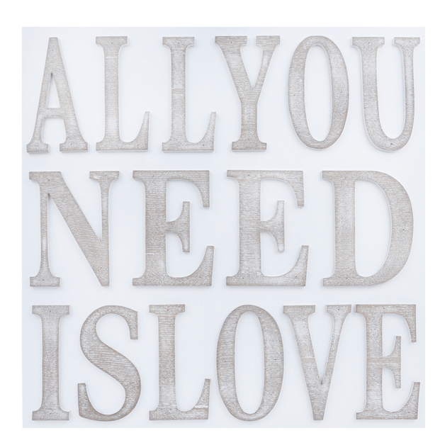 """All You Need Is Love"" Plaque"