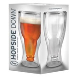 Fred - Hopside Down Beer Glass