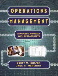 Operations Management by Scott M. Shafer image