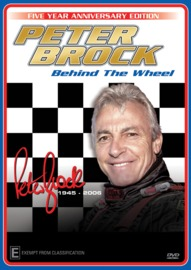 Peter Brock: Behind the Wheel on DVD