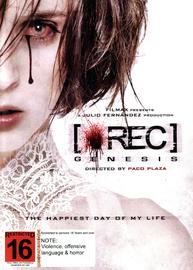REC Genesis on DVD