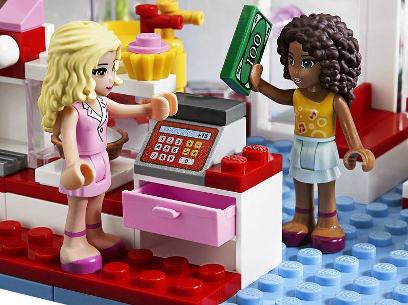 Lego Friends City Park Cafe 3061 Toy At Mighty Ape Nz