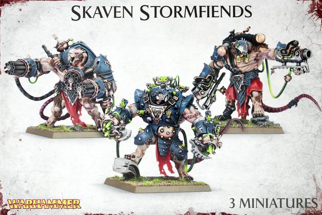 Warhammer Skaven Stormfiends