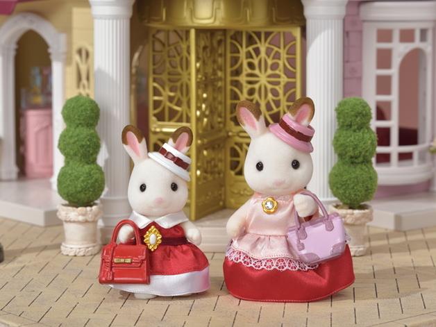 Sylvanian Families: Rabbit Dress Up Duo Set