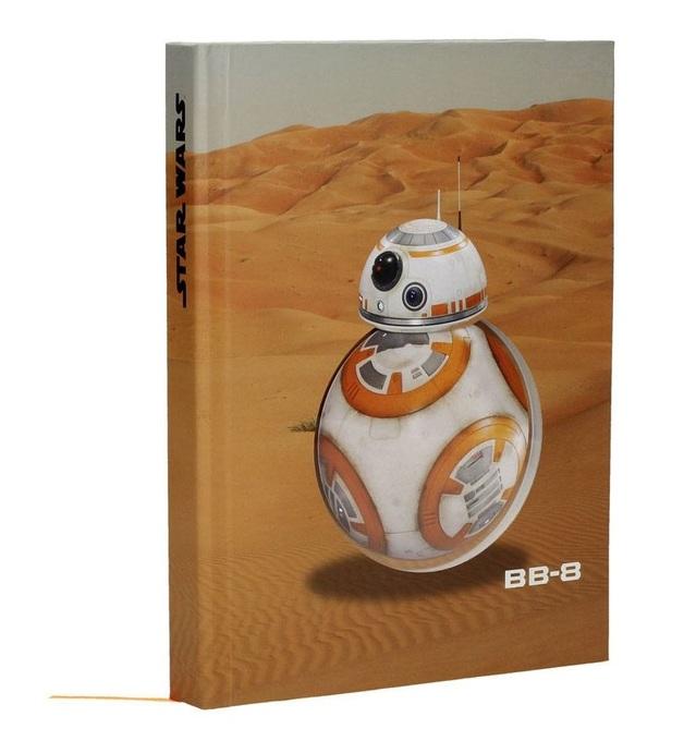 Star Wars: A5 Light & Sound Notebook - BB-8