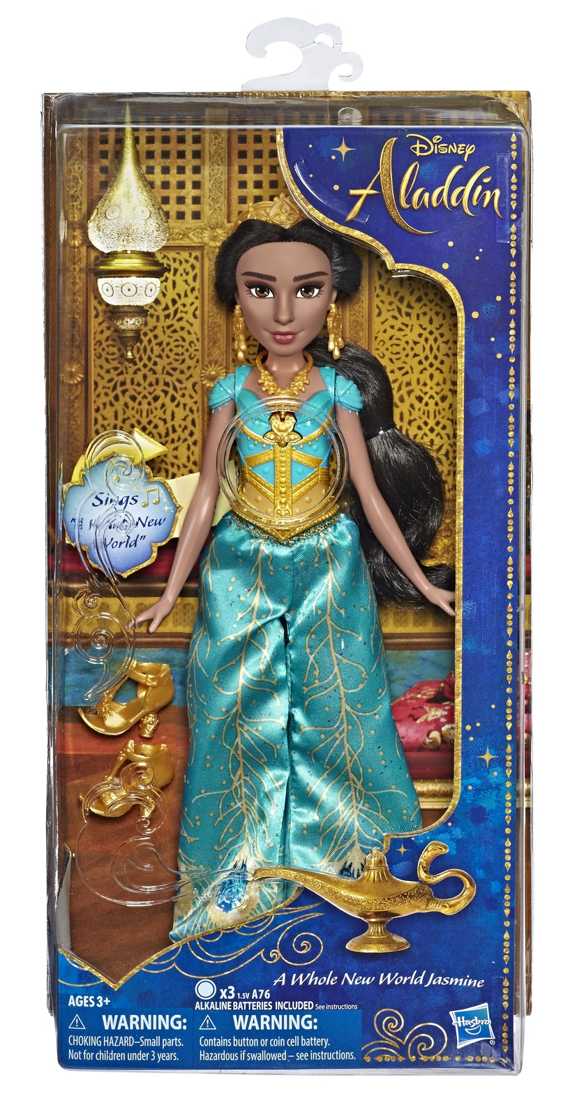 Disney's Aladdin: Jasmine - Singing Fashion Doll image