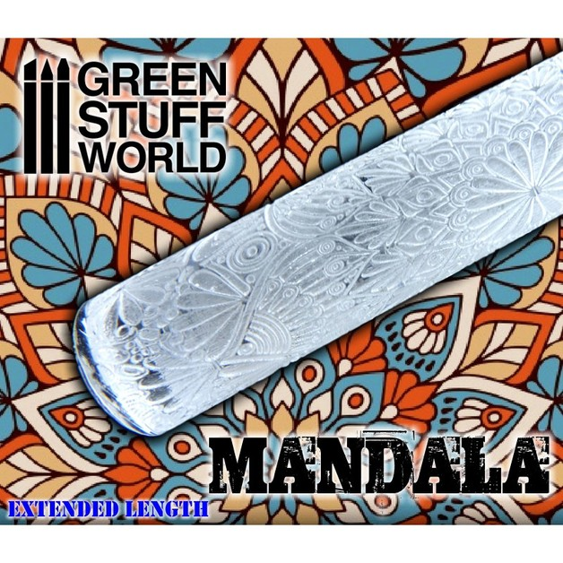 Green Stuff World Texture Rolling Pin: Mandala