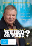 William Shatner's Weird Or What? - Season 2 on DVD