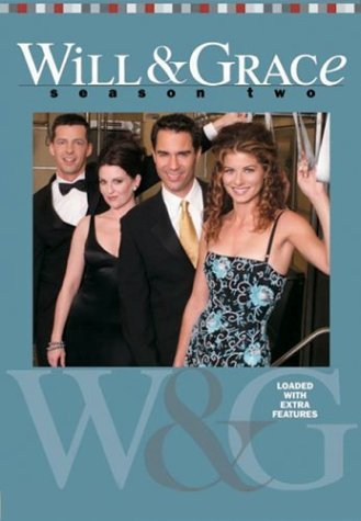 Will & Grace - Season 2 (4 Disc Set) on DVD