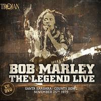 The Legend Live - Santa Barbara County Bowl (25/11/79) (CD/DVD) by Bob Marley & The Wailers