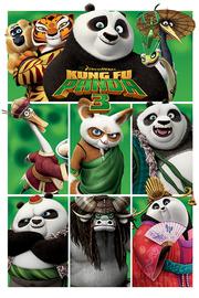 Kung Fu Panda 3 - Characters Maxi Poster (568)