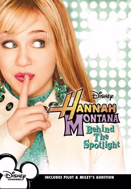 Hannah Montana - Behind The Spotlight on DVD image