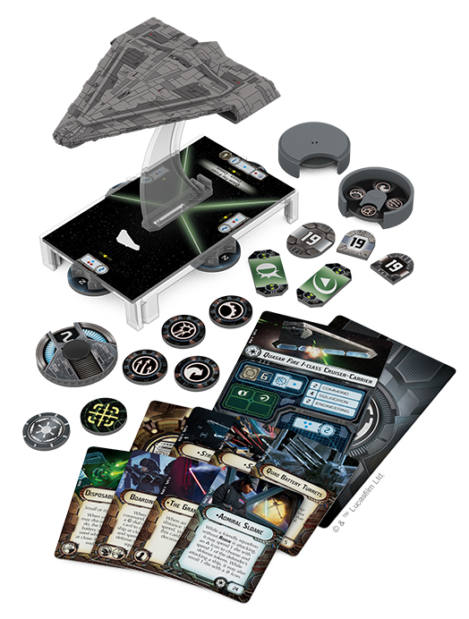 Star Wars Armada Imperial Light Carrier Expansion Pack image